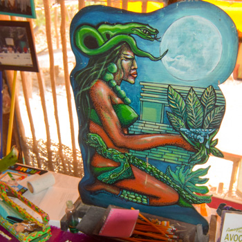Ixchel, Maya goddess of healing